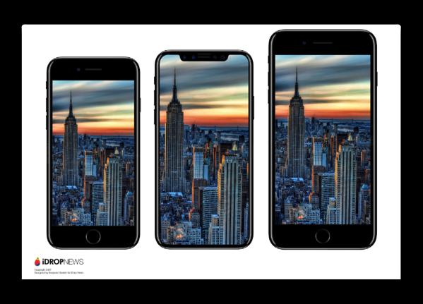 ガラスシャーシのiPhone 7とOLED iPhone 8用の次世代iPhoneの量産が開始