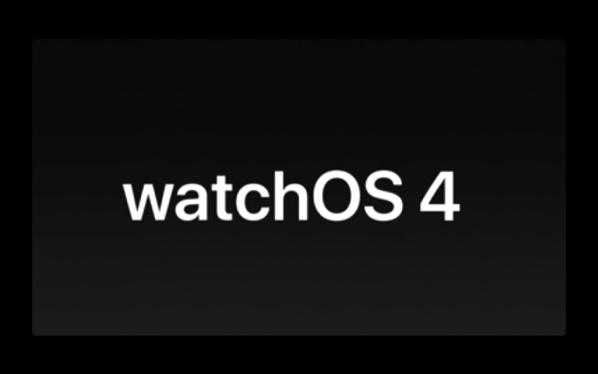 Apple、次期バージョン「watchOS 4 beta 2 (15R5307f)」を開発者にリリース
