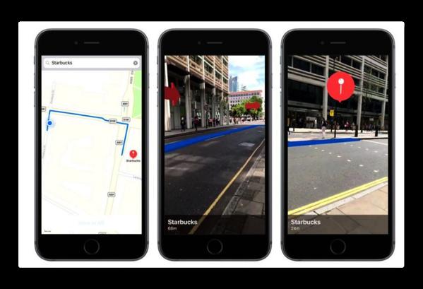 AppleのARKitは拡張された未来の地図を提供する