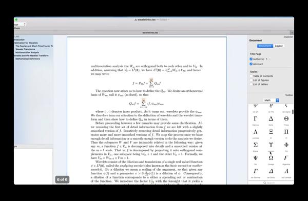 Mac用の新しいグラフィカルLaTeXのエディタ「Compositor」