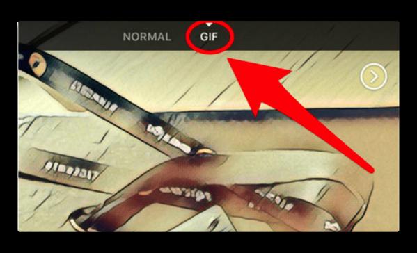 【iPhone】FacebookのカメラにGIFクリエイターが組み込まれる