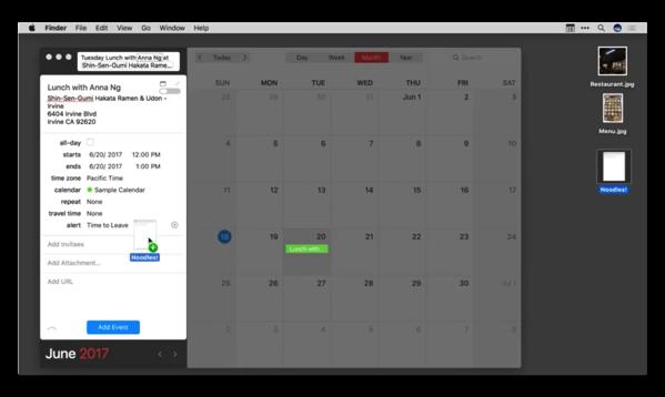 【Mac】カレンダー&リマインダー「Fantastical 2」がバージョンアップで多くの新機能を追加
