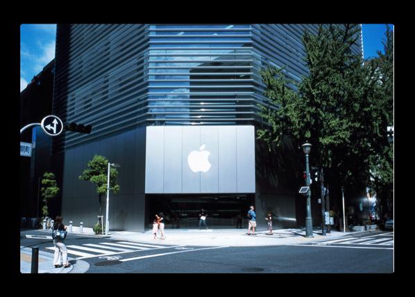 Appleは、1平方フィート当たりの売上高で第1位の小売業者で、あのティファニーの売上高の約2倍です