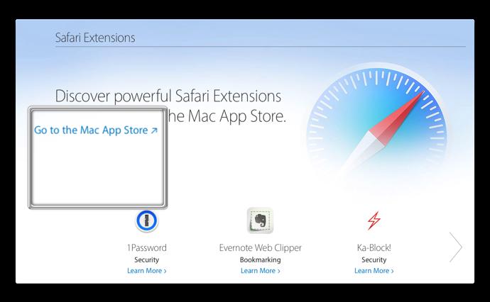 Safari Extensions 002