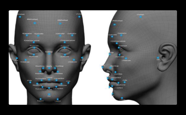 iPhone 8の顔認識システムは、数百万分の1秒で測定する