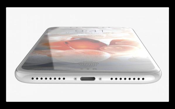 「iPhone 8」、ステータスバーを反転させ、ロックボタンがカメラシャッターになる