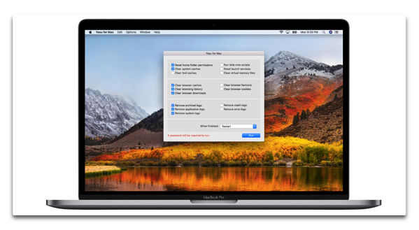 【Mac】「macOSHighSierra」対応の無料のシステムメンテナンスツール「Yasu for Mac」