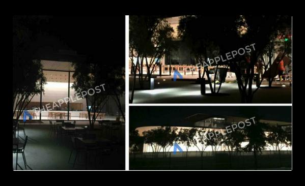 Appleスペシャルイベント前の完成に向けて、Apple Park Visitor Centerの画像が公開