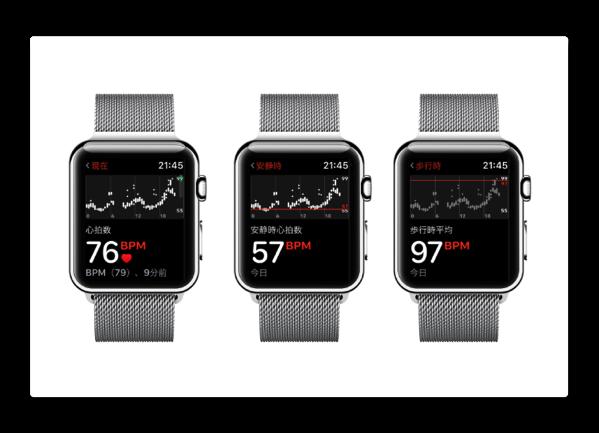 Apple Watchで指定した心拍数を上回り続けた時(体調に問題がある可能性)に通知を受けとるには