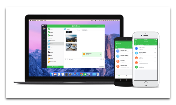 【iOS】クロスプラットフォームのファイル転送アプリ「AirDroid」がリリース