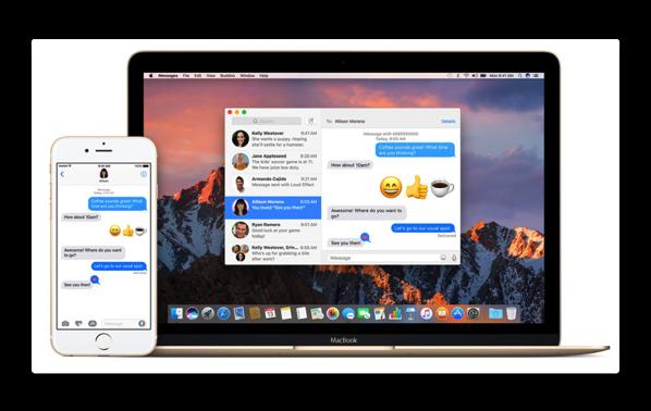 「macOSHighSierra」での「メッセージ」遅延の、取り敢ずの対処方法