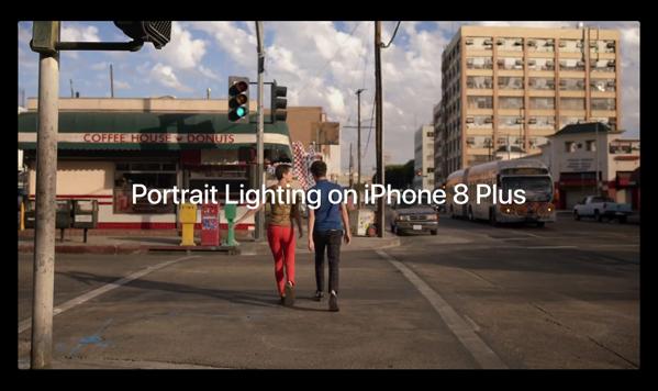 Apple、「iPhone 8 Plus」カメラの「ポートレートライティング」機能に焦点を当てたムービー「Portraits of Her」を公開
