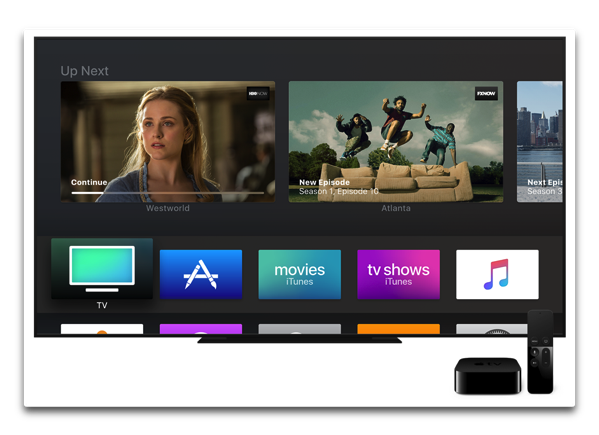 Apple、「tvOS 11.1 beta 2 (15J5571d) 」を開発者にリリース