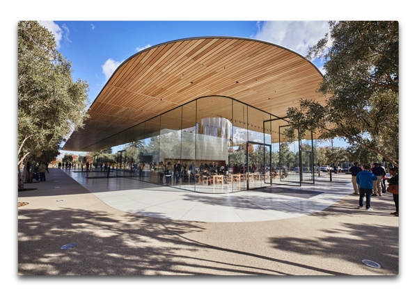 Apple Park Visitor Centerが一般公開される
