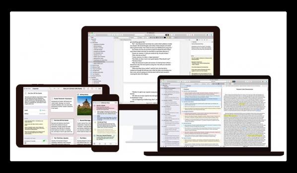 【Mac】Literature & Latte、テキストエディタ「Scrivener 3 for macOS」をリリース、アップデート詳細