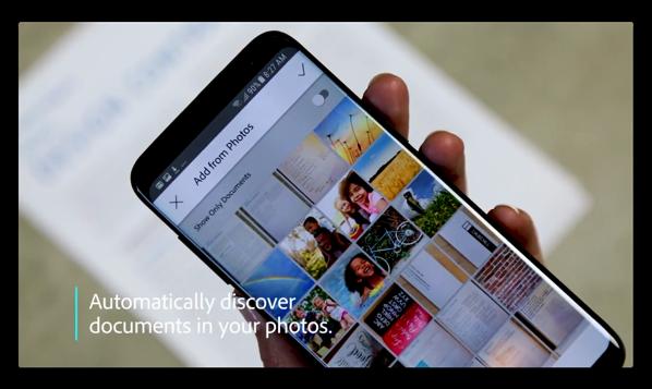 【iOS】ドキュメントスキャンアプリ「Adobe Scan」、バージョンアップで自動文書検出