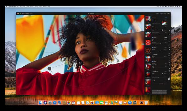 【Mac】11月29日リリース予定の「Pixelmator Pro」のカラー調整のビデオを公開