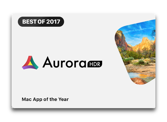 Mac App StoreのBEST OF 2017は「Aurora HDR 2018」「The Witness」