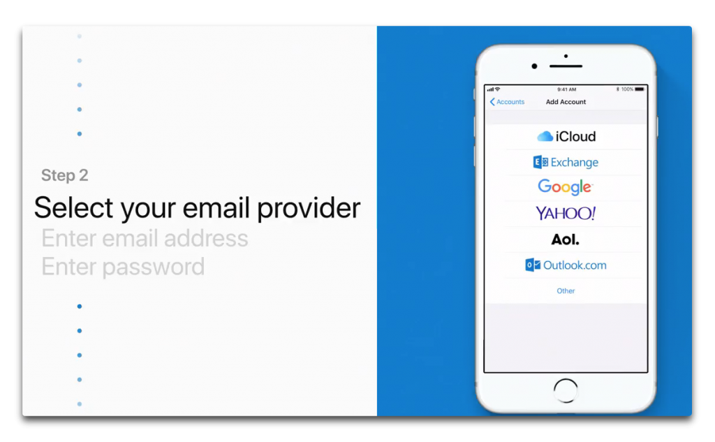 Apple、Apple Supportチャンネルで「How to add an email account in Mail on your iPhone or iPad」を公開