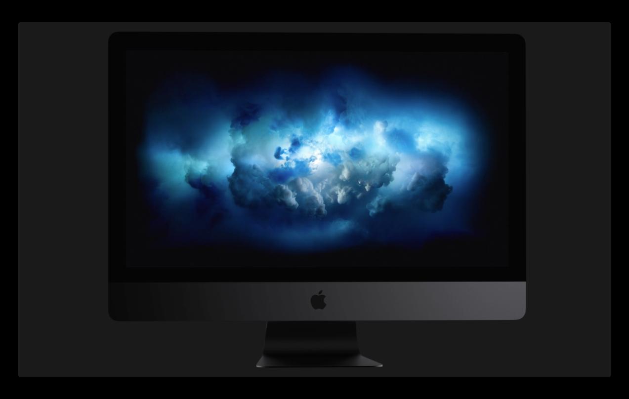 Apple、iMac Proの販売を開始、価格は¥558,800より