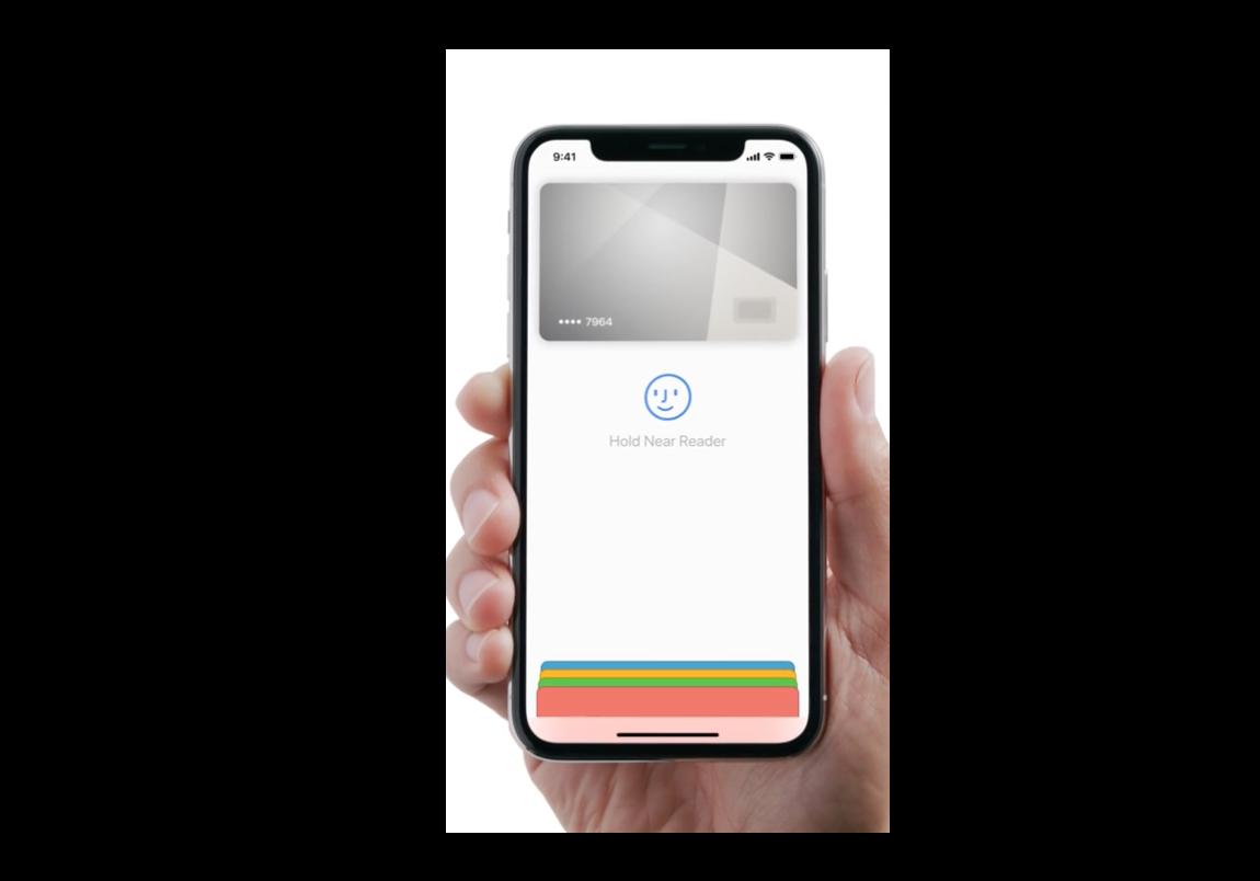 Apple、iPhone XでのFace IDを使ったApple Payの支払方法の新しいCFを公開