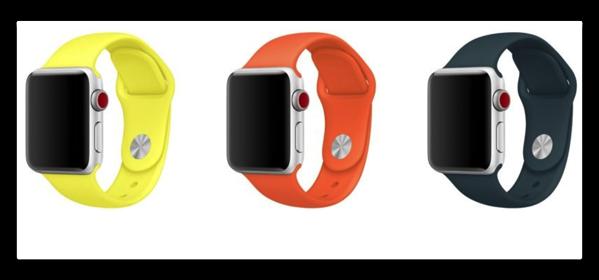 Apple,Apple WatchバンドとiPhoneケースにNewカラー3色を追加