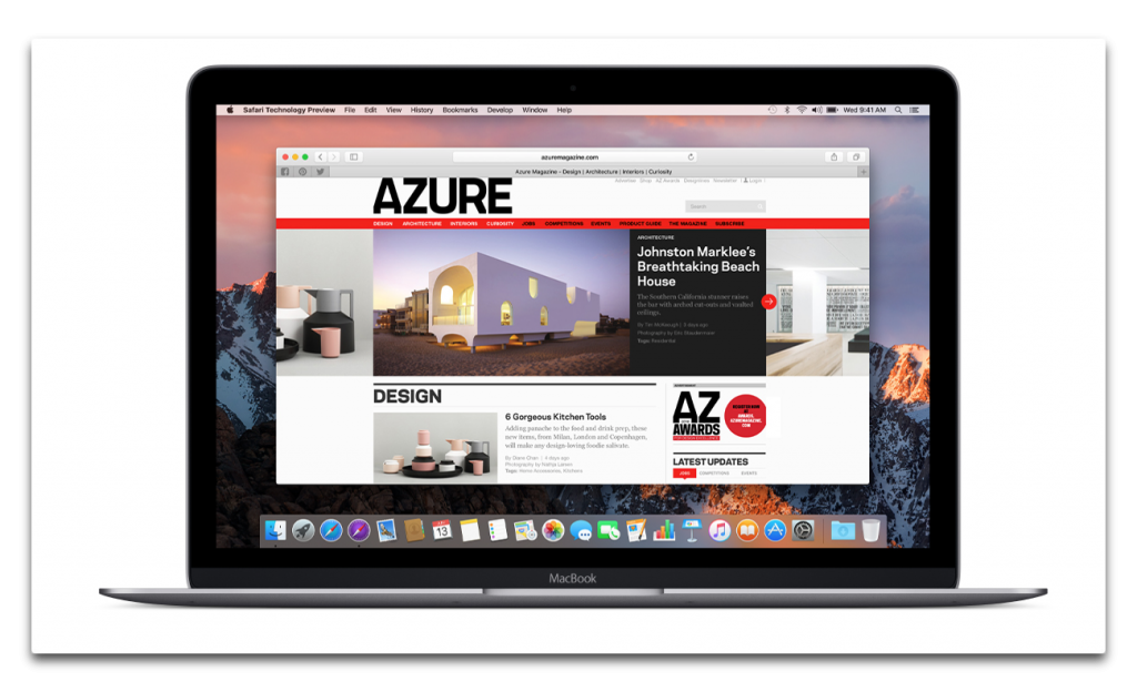 【Mac】Apple,Spectreの脆弱性に対応した「Safari Technology Preview Release 47」を開発者にリリース