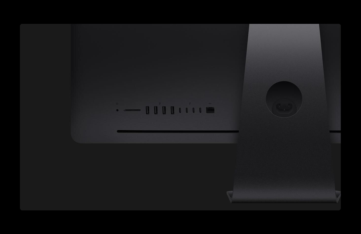 iMac ProにはThunderbolt 3のストレージのサプライズがある