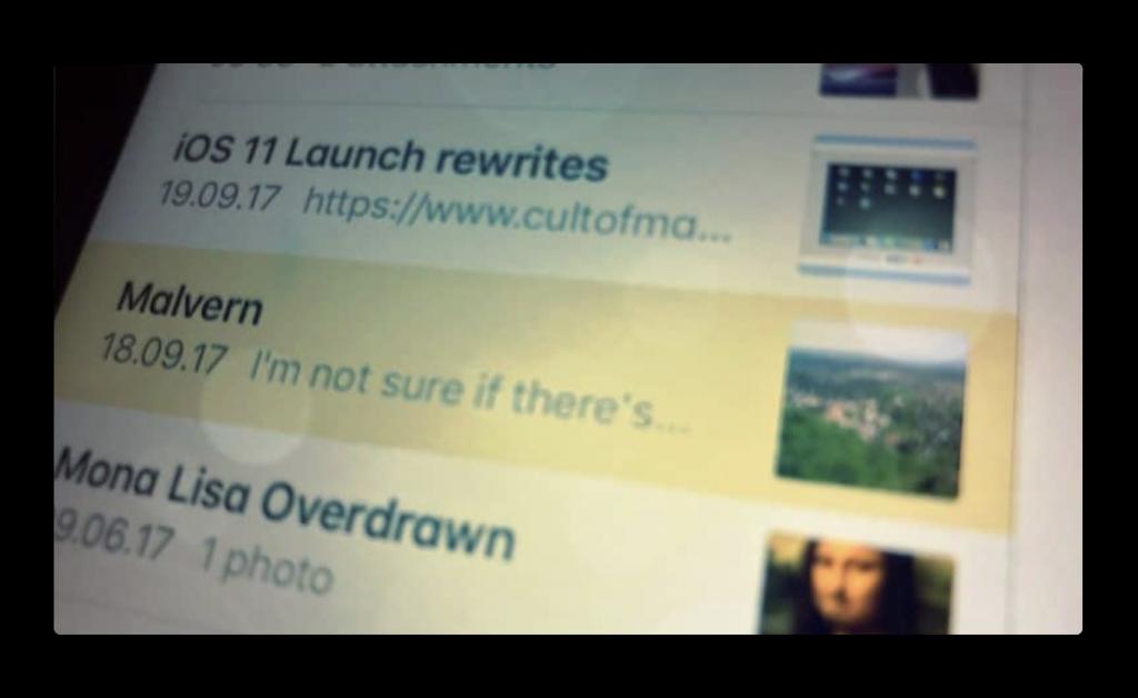 【Mac/iOS】カスタムサムネイルを使用し、メモを見つけやすくする