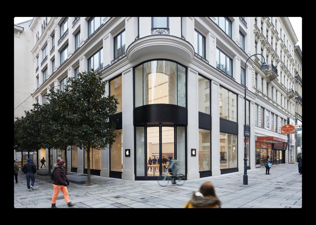 Apple、土曜日にオーストリアにApple Storeをオープン