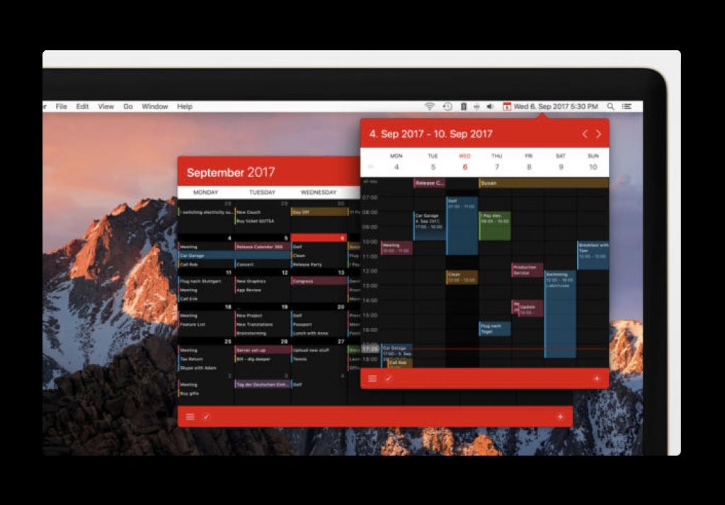 【Sale情報/Mac】メニューバーカレンダー「Calendar 366 II」がアップデートし、期間限定で33%オフ