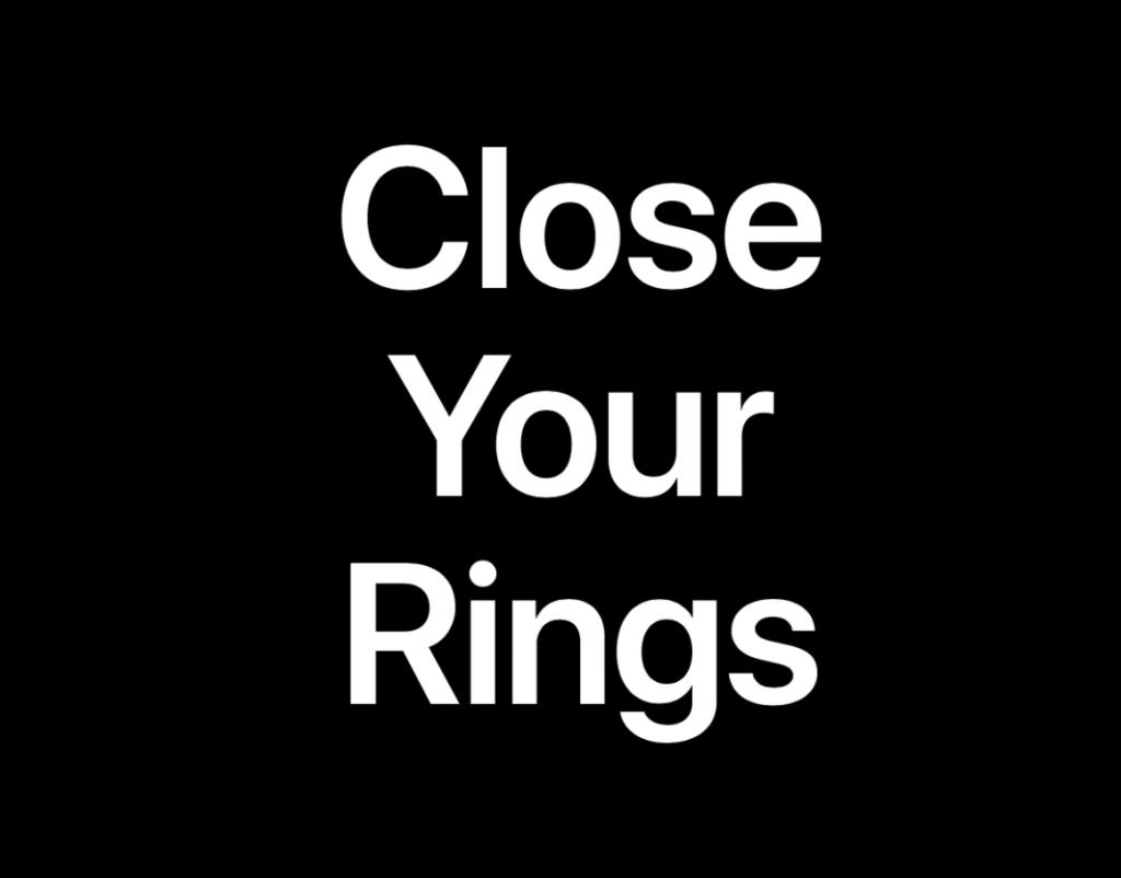 """Apple、Webサイトに新しい""""Close Your Rings""""ページを追加"""