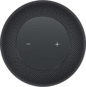 HomePod volume controls status lights 005