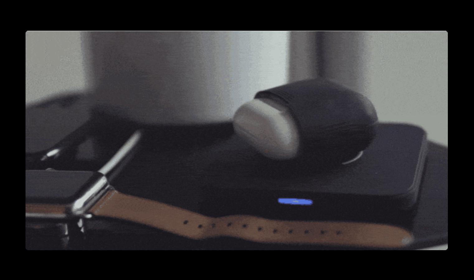Kickstarter、Apple AirPodsにワイヤレス充電を追加するケース