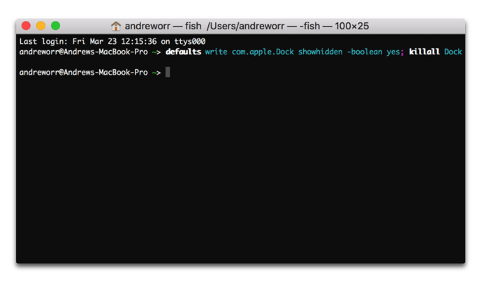 App Dock 001