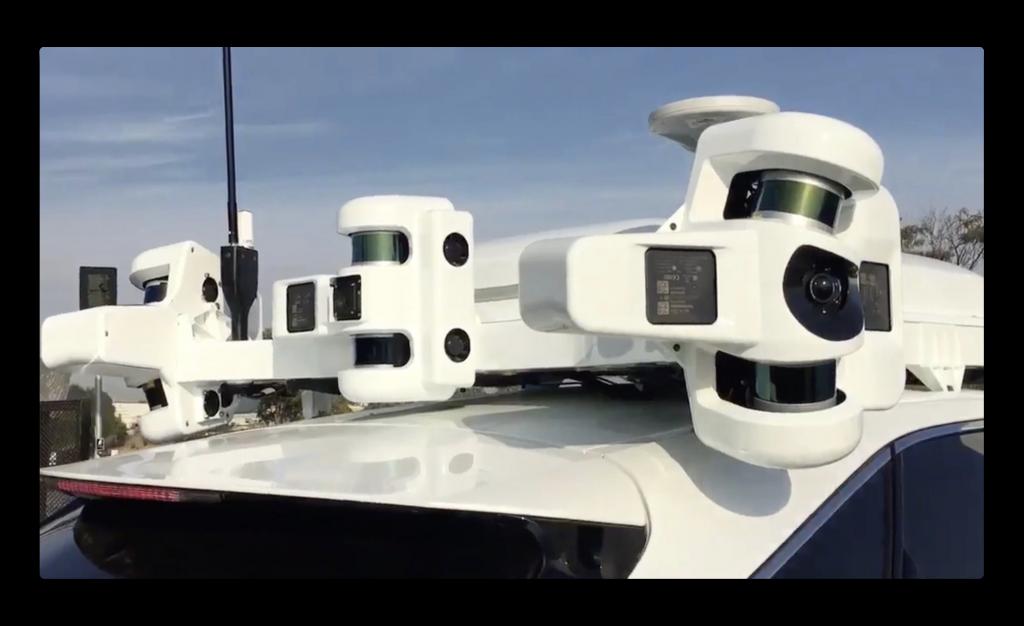 Appleは、テスラとウーバーよりも多くの45台で自律車走行をテストしている