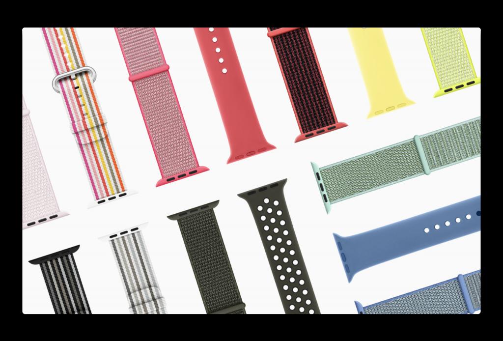 Apple、新しいApple Watchバンド、スプリングコレクションの登場を発表