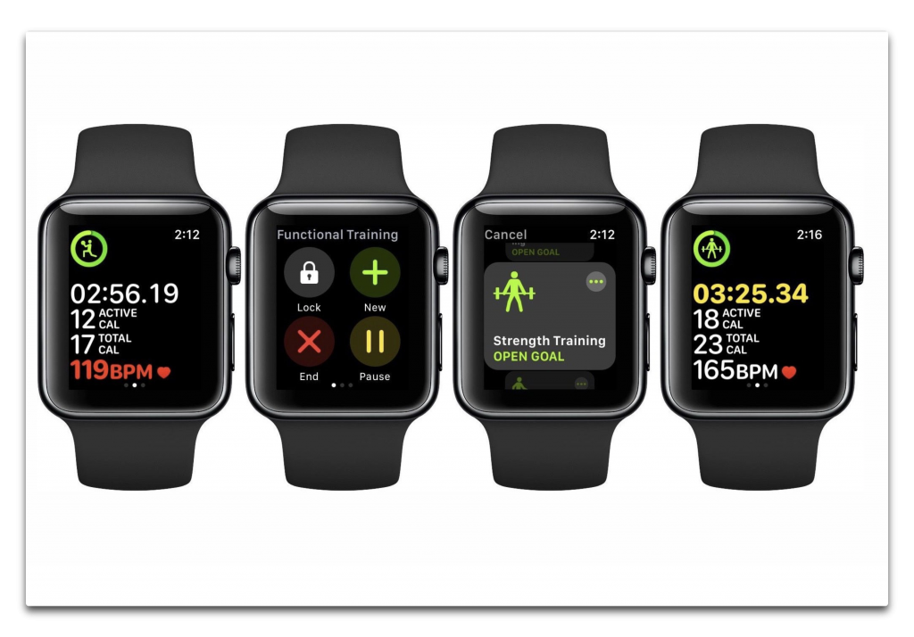Apple Watchでウォーミングアップ、メインワークアウト、クールダウンと続けて複数のワークアウトを追跡する方法