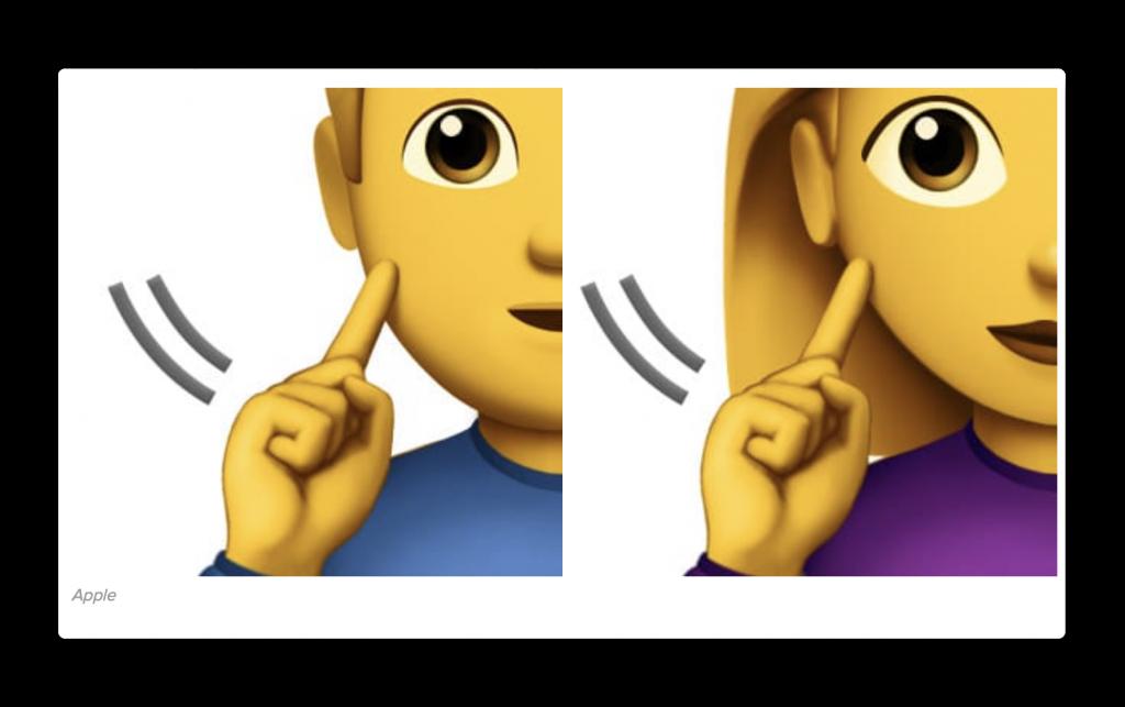 Apple、障害を持つ人々を表現する13の新しいEmojisを提案