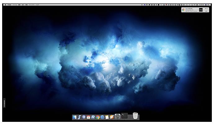 【Tips】MacのDockに実行中のアプリケーションのみ表示させる方法