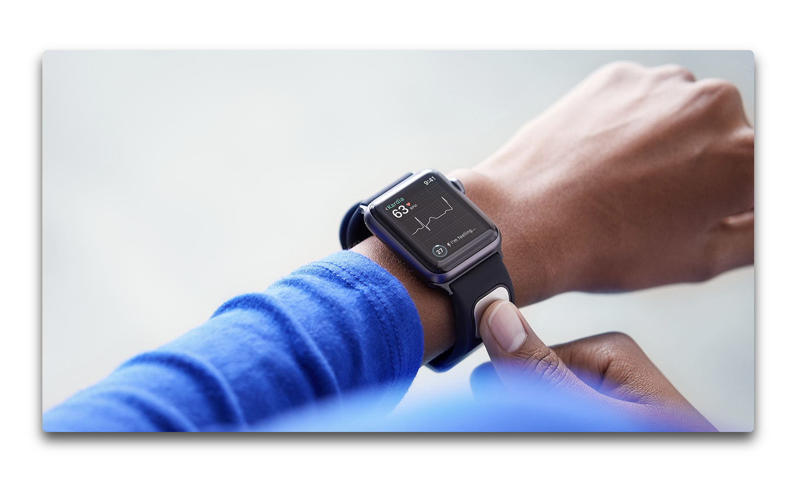 AliveCor KardiaBand、Apple Watch用に高カリウム検出用AIアルゴリズムを使用可能