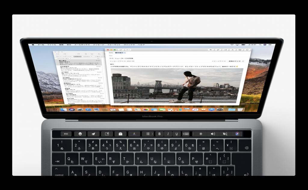 2018年にMacBookの売上高は15%増になり、iPhoneやiPadの成長率を上回る