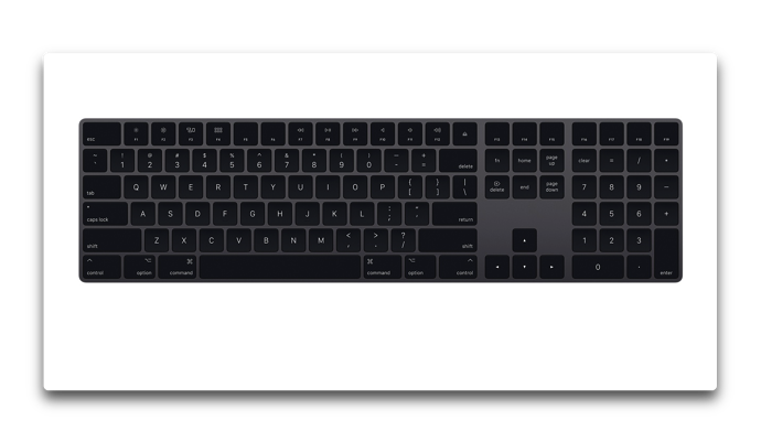 Magic Keyboard Gray 001