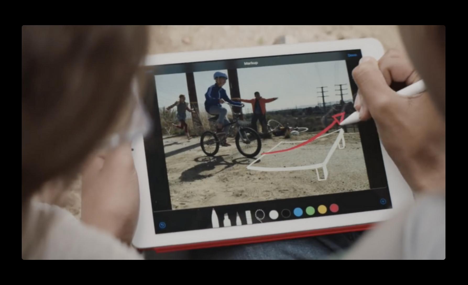 Apple、新しいiPadに焦点をあてた「By Apple Pencil」「Homework」と題する新しい2本のCFを公開