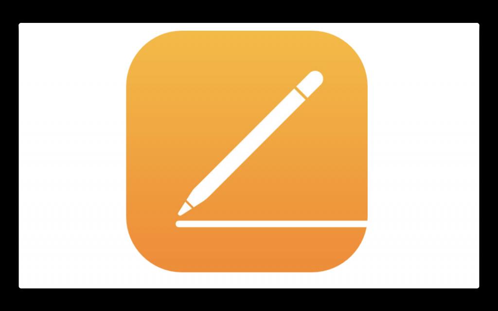 Apple、Apple Pencil対応でiOSのPagesのアイコンを変更