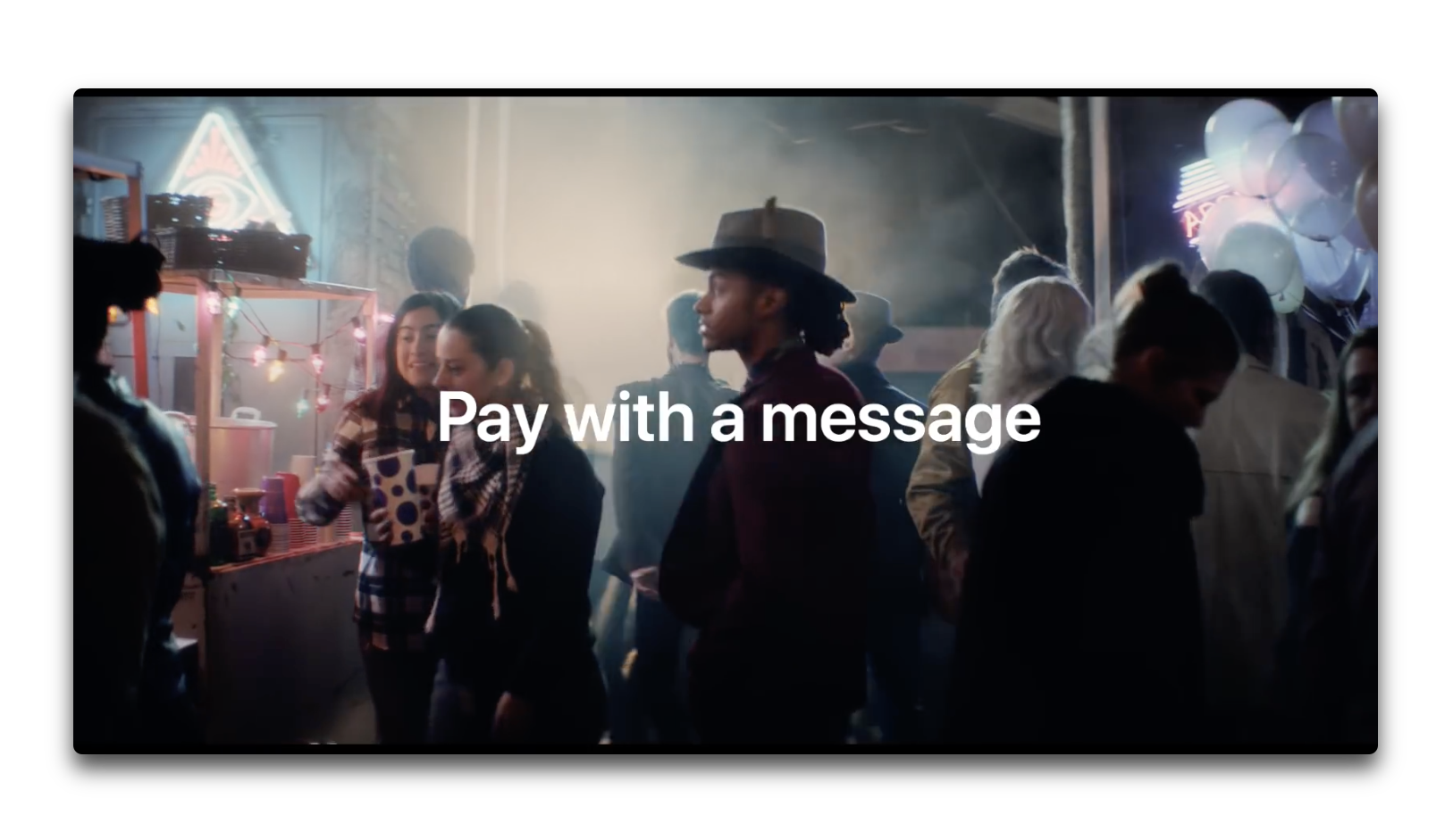 Apple、iPhone XとFace IDにフォーカスした新しいCF「Pay with a message」を公開