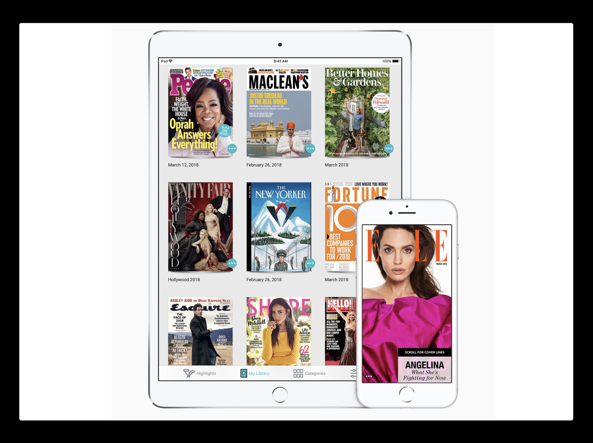 Apple、デジタル雑誌サービス「Texture」の取得を報告