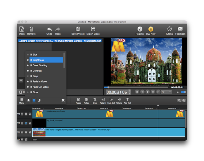 Video Editor MovieMator Pro 004