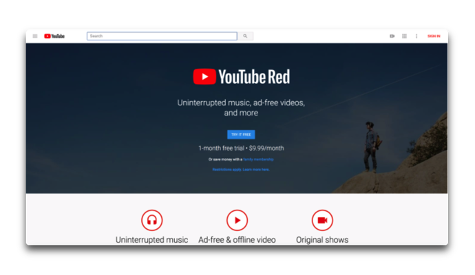 YouTube Red 001