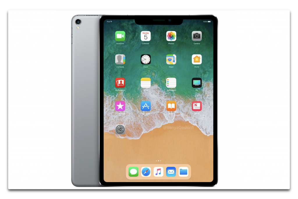 Apple、TrueDepthカメラとフェイスIDを搭載したiPad Proを6月に出荷か